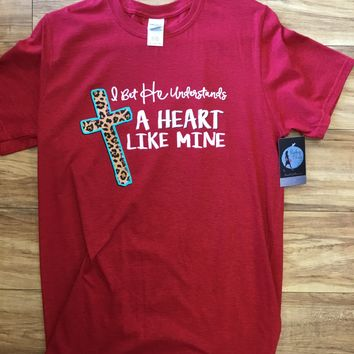 Southern Couture Heart Like Mine T-Shirt
