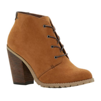 Call It Spring™ Aderin Lace-Up Desert Womens Ankle Booties
