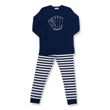 Long Sleeve Baseball Glove Sleepwear