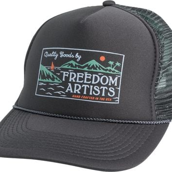FREEDOM ARTISTS OUTRIGGER TRUCKER HAT