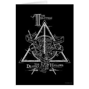 Harry Potter Spell | DEATHLY HALLOWS Graphic Card