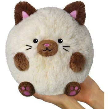 Squishable Mini Siamese Cat 7""