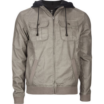 Chor Creepster Mens Jacket Grey  In Sizes