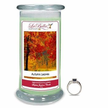 Autumn Leaves Jewelry Candles