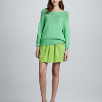 Averill Sweater & Jan Short Knit Skirt