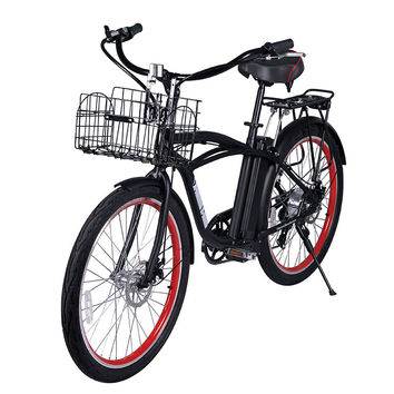 X-treme Newport Electric Bike Beach Cruiser Bicycle