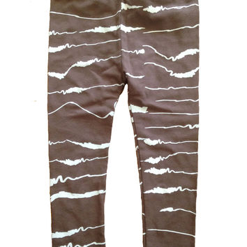MOCHA 'EARTHQUAKE' LEGGINGS