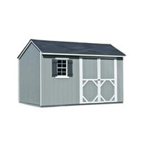 Shop Heartland Stratford Saltbox Engineered Wood Storage Shed (Common: 12-ft x 8-ft; Interior Dimensions: 11.71-ft x 8-ft) at Lowe's