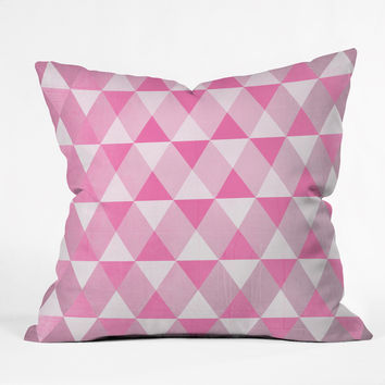 Hello Twiggs Fresh Strawberries Throw Pillow