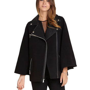 Bcbgeneration Faux Leather Moto Jacket