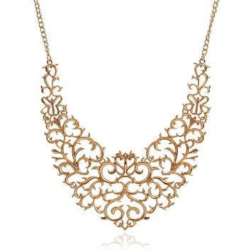 Choker - Necklace for women - Gold Black Silver