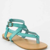 We Who See Crisscross Thong Sandal-