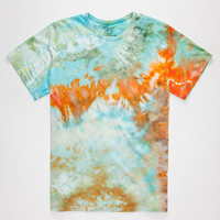 Mowgli Surf Coral Reef Mens Pocket Tee Multi  In Sizes