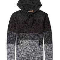 Retrofit Hooded Sweater, Striped Marl Pullover - Mens SALE & CLEARANCE - Macy's