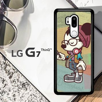 Hipster Mickey Mouse L1579 LG G7 ThinQ Case