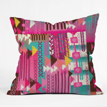 Mary Beth Freet Navajo Party Throw Pillow