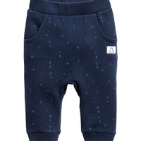 Patterned Joggers - from H&M
