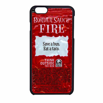 Taco Bell Packet Fire iPhone 6 Case