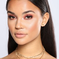 Julian Layered Choker - Gold