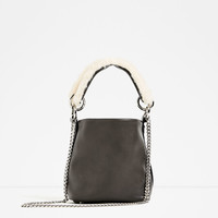 MINI CROSSBODY BAG WITH A STRAP DETAIL