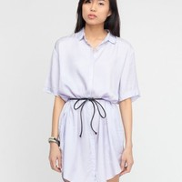 Cheap Monday / Stevie Shirt Dress In Lilac