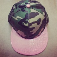 Army Snapback from Belle La Vie Boutique