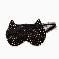 Slick Kitty Reversible Sleep Mask