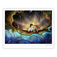 "Mandie Manzano ""Something About Her"" Mermaid Fine Art Gallery Print"