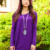 Piko Dress - Dark Purple