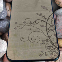 Flowers Wooden for iPhone 4/4s, iPhone 5/5S/5C/6, Samsung S3/S4/S5 Unique Case *99*