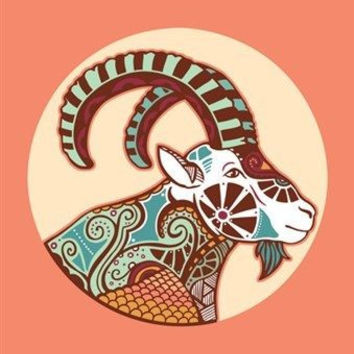 ARIES ASTROLOGY ART POSTER 24X36 the ram colorful symbolic classic original