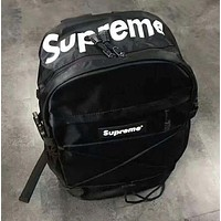 Supreme Letters mass sports leisure backpack bag for men and women students skateboarding bag H-JJ-MYZDL