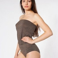 American Apparel Tri-Blend High-Waist Brief Romper $36.00