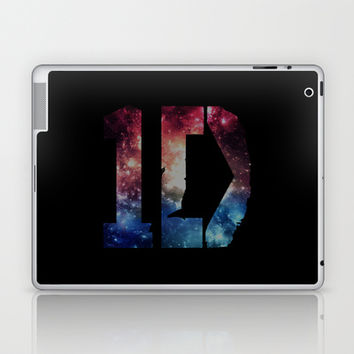 1D: Galaxy Black Laptop & iPad Skin by Valerie Hoffmann || One Direction