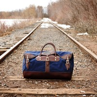 Medium Sportsman's Duffel - Duffel Bags - Travel :: Duluth Pack :: Made in the USA :: Quality leather and canvas luggage, backpacks, camping, and outdoor gear,