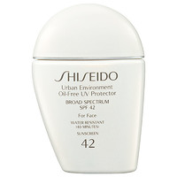 Shiseido Urban Environment Oil-Free UV Protector Broad Spectrum SPF 42 For Face (1 oz)