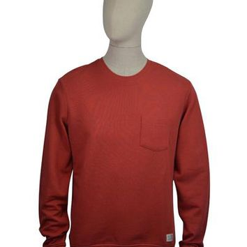 Lee Pocket Sweat - Faded Red