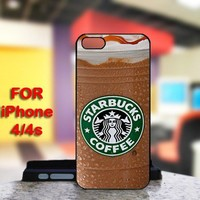 Starbucks Coffee For IPhone 4 or 4S Black Case Cover