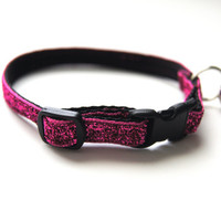 Pink Sparkle Cat Collar