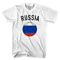 Russia Soccer Ball T-shirt