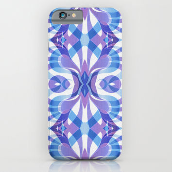 Floral Geometric Abstract G288 iPhone & iPod Case by MedusArt