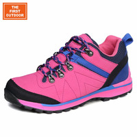 TFO women hiking shoes brand sports shoes woman athletic shoes leather waterproof breathable climbing outdoor sneakers 844610