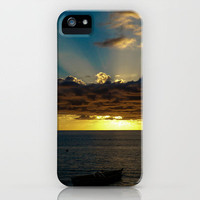 Sunset Soufriere iPhone Case by Inez Wijker Photography