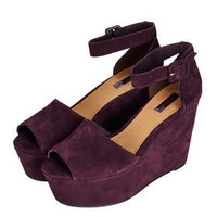 WINK Two Part Wedges - Wedges - Heels  - Shoes