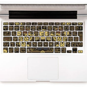 macbook keyboard stickers steampunk macbook decal laptop decal macbook pro  keyboard sticker stickers macbook pro steampunk macbook sticker