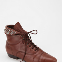 Urban Renewal Studded Leather Ankle Boot