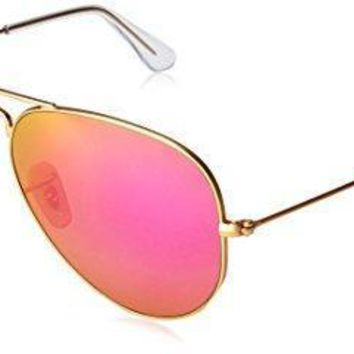 Ray Ban Unisex Adult Aviator Large Metal Non Polarized Aviator Sunglasses