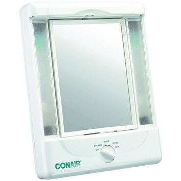 Conair 2-sided Makeup Mirror With 4 Light Settings (pack of 1 Ea)