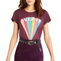Over it No9 Tee - Wildfox
