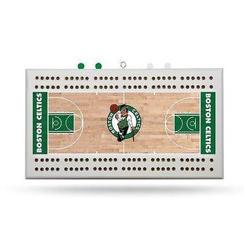 Boston Celtics NBA Licensed 2 Track Cribbage Board
